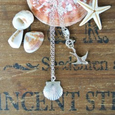 Marcia little seashell necklace