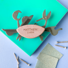 Personalised Crab Multi Tool