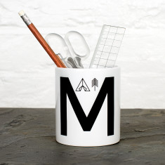 Adventure Alphabet Personalised Desk Tidy