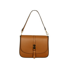 Elizabeth full grain cross body bag in tan