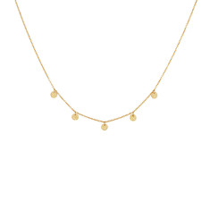 Grace Choker in 18 KT Yellow Gold Plate