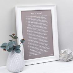 What is a mum poem personalised print