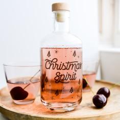 Christmas spirit decanter
