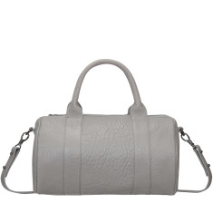 Kingdoms and Oaths leather handbag in cement