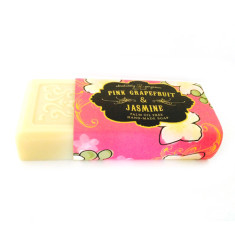 Pink grapefruit and jasmine palm oil free soap
