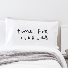 Time for cuddles pillowcase
