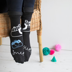 Snap Happy Personalised Photography Socks
