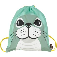 Organic cotton Seal rucksack