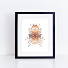 Bling bug II fine art giclee print
