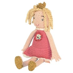 Princess Knitted Doll