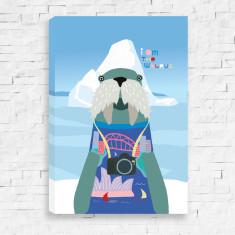 I Am The Walrus Canvas