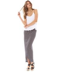 Alex Wrap Skirt Black/White