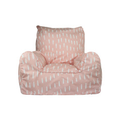 Pink Raindrops Bean Chair Cover
