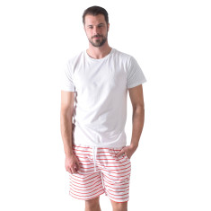 Fire truck men's sleep shorts