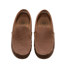 Tan Leather Loafer