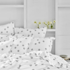 Bed Sheet Set In Lotta (dove)