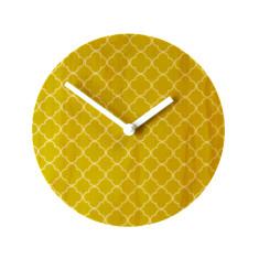 Objectify quatrefoil wall clock