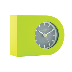 London Clock Company Tangent Lime Horizontal Table Clock