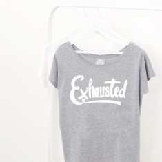 Exhausted Women's Loose Fit T Shirt