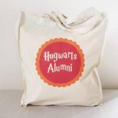 Hogwarts alumni tote bag