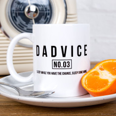 Dadvice Sleep Ceramic Mug