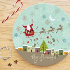 Christmas cheer plate