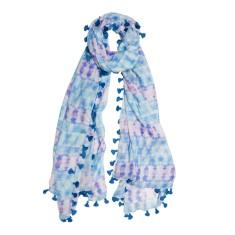 Ripples tassels scarf