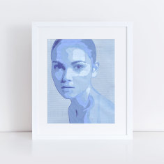 portrait of a girl limited edition fine art giclee print