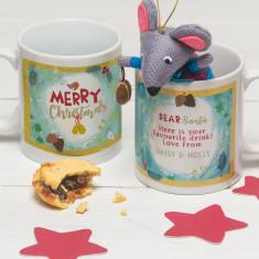 Personalised Christmas Mug for Santa