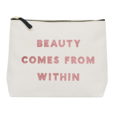 Beauty Comes From Within Wash Bag