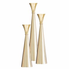 Brass Candleholders (3 sizes)