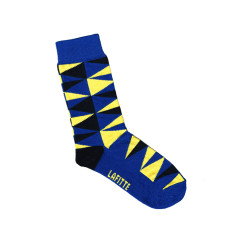 Lafitte large triangle pattern socks (various colours)