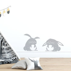 Bunnies Wall Decal