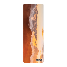 Mountain Sunset Yoga Mat