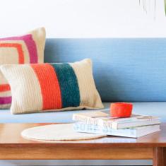 Rectangle Koshi Cushion Teal