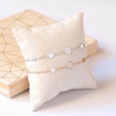 Personalised Initial Pastille Bracelet
