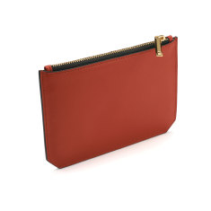 Enn leather pouch (red rust)