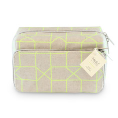 Geo Medium Wash Bag