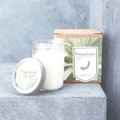 Phosphenes Hand-poured Soy Wax Candle in Small Mason Jar