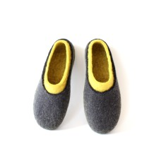 Women's Wool Slippers Double Sunny