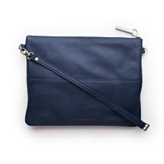 Jules clutch shoulder bag in ocean