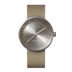 Leff Amsterdam Tube Watch D42 With Sand Cordura Strap