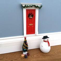 Christmas elf/fairy door set