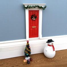 Christmas elf/fairy door set