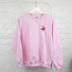 One In A Melon Embroidered Ladies Jumper Sweatshirt