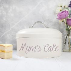 Personalised Cream Cake Tin