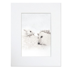 Hunter Gatherers - Bear Rabbit Print Unframed