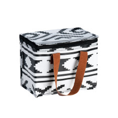 Insulated Lunch Box bag in Tribal print