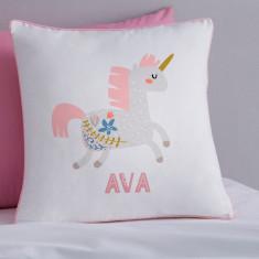 Personalised Scandi Unicorn Cushion Cover