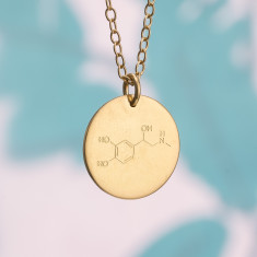 Personalised Energy Molecule Necklace